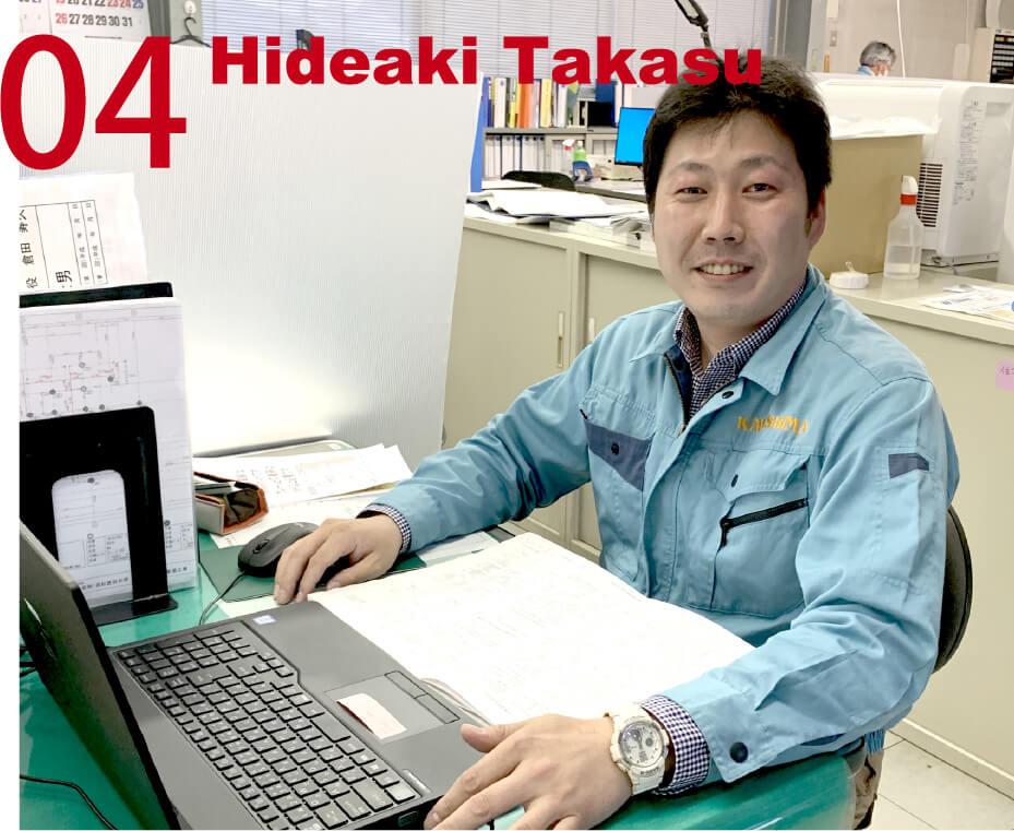 04 Hideaki Takesu